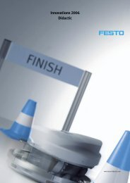 Innovations 2006 Didactic - Festo Didactic