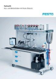 Hydraulik Aus- und Weiterbilden mit Festo Didactic
