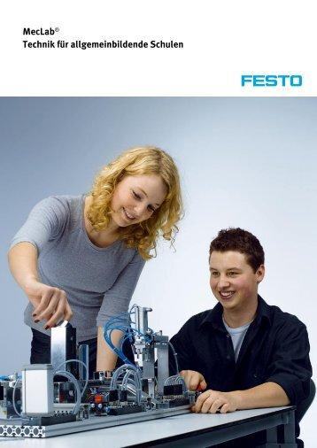 MecLab® Technik für allgemeinbildende Schulen - Festo Didactic