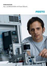 Elektrotechnik Aus- und Weiterbilden mit Festo Didactic