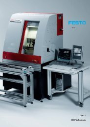 Teciam CNC Technology, Basic Technologies - Festo Didactic