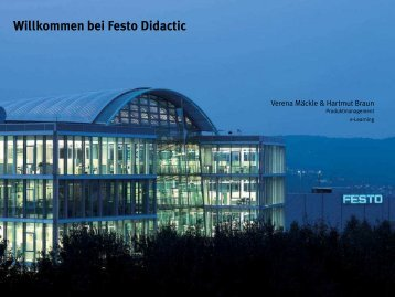 Classroom Manager - Festo Didactic