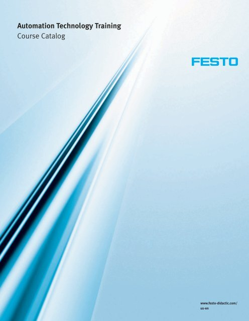 Automation Technology Training Course Catalog - Festo Didactic