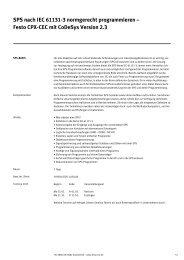 Details und Anmeldung 2013 - Festo Didactic