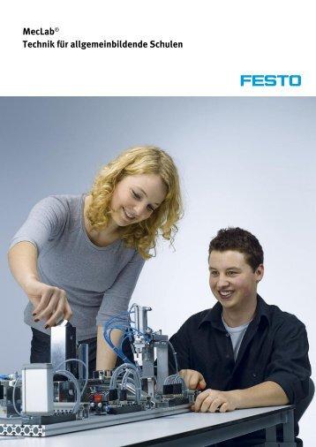 MecLab® Technik für allgemeinbildende Schulen DE - Festo Didactic