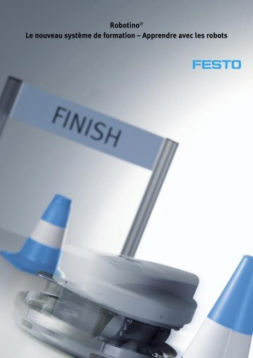 Apprendre avec les robots - Festo Didactic