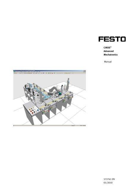 Manual CIROS® Advaned Mechatronics EN - Festo Didactic