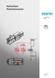 Hydraulique Perfectionnement - Festo Didactic