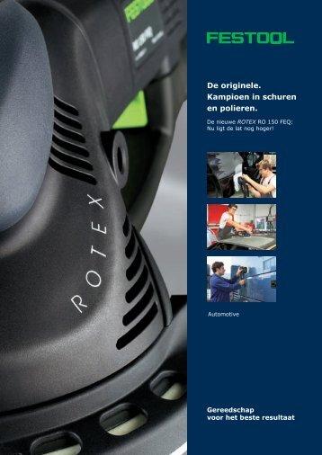 ROTEX 150 (automotive) - Festool