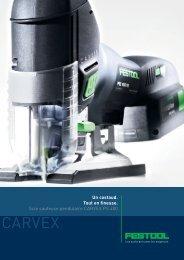 La scie sauteuse pendulaire CARVEX PS 400 - Festool