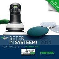 Download de brochure - Festool
