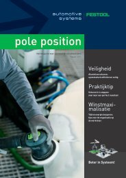 pole position - Festool