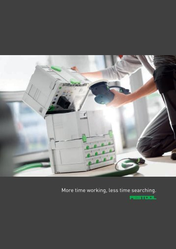 SYSTAINER, SORTAINER and Systainer-Port - Festool