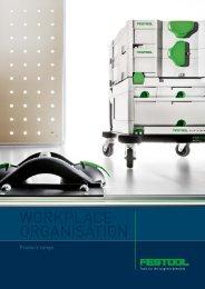 brochures on workplace organisation - Festool