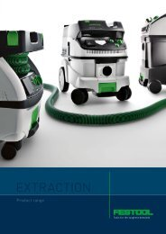 Mobile dust extractors from Festool.