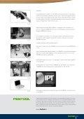 Giunzioni di telai con tasselli DOMINO - Festool - Page 6