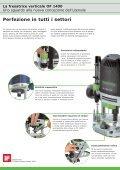 La fresatrice verticale OF 1400 - Festool - Page 2