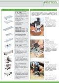 La fresatrice verticale OF 1400 - Festool - Page 7