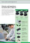la nuova LEX 2 150/11. - Festool - Page 2