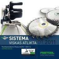 Daugiau informacijos apie Naudingus 2011 pavasario ... - FESTOOL