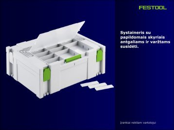 Systainer SYS 2-DF - FESTOOL