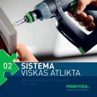 Atsisiųsti Naujienų brošiūrą (pdf. formatas) - FESTOOL