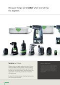 DRILLING AND SCREWDRIVING - FESTOOL - Page 4