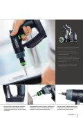 DRILLING AND SCREWDRIVING - FESTOOL - Page 7