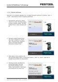 Žingsnis po žingsnio instrukcijas rasite čia - FESTOOL - Page 3