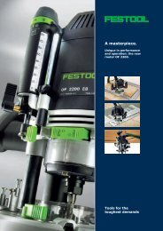 The New - FESTOOL