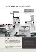 ORGANISATIE OP DE WERKVLOER - Festool - Page 4