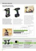 Zdecydowanie inne: akumulatorowe wiertarko-wkrętarki Festool - Page 3