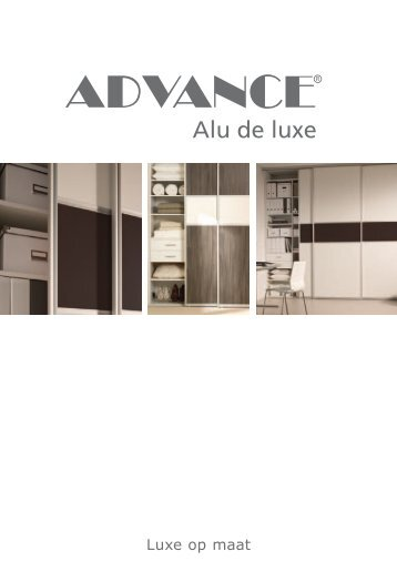 Brochure Advance alu de luxe - Fetim