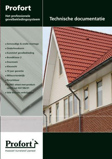 Profort technische documentatie - FrontsAndFronts.nl