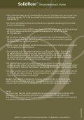 Regels voor het gebruik van Solidfloor in combinatie met ... - Fetim - Page 2