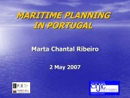MARITIME PLANNING IN PORTUGAL