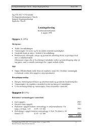 Løsningsforslag - Høgskolen i Narvik - hovedside