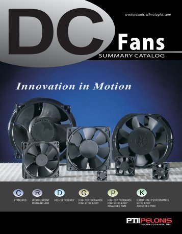 DC Fans Summary Catalog - TGI - ThomasNet