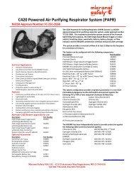 C420 Powered Air Purifying Respirator System (PAPR) - ThomasNet