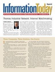 IT_Internet Matchmaking - ThomasNet