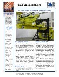Mill Liner Handlers - ThomasNet