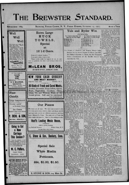 1907-09-13 - Northern New York Historical Newspapers