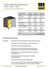 Produkt Informationsblatt - Sasse Pumpen und Kompressoren ...