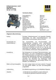 Kolbenkompressor, mobil BaseMaster BAM 400-10-50 D Art.-Nr. A ...