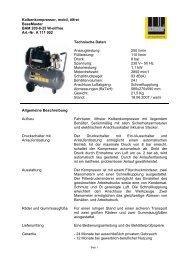 BAM 200-8-25 W-oilfree - Walker-Druckluft-Shop
