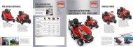Neue Aufsitzmäher Modelle 2013 - Sabo