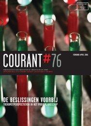 Courant 76: De beslissingen voorbij - VTi