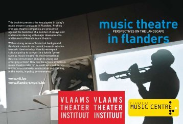 music theatre in flanders - Muziekcentrum Vlaanderen