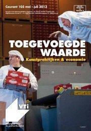 Courant 105 - Toegevoegde waarde / Kunstpraktijken ... - VTi