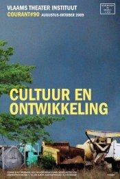 Courant 90: Cultuur en ontwikkeling - VTi